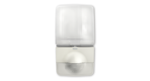 theLeda P12 WH LED spotlight with motion detector